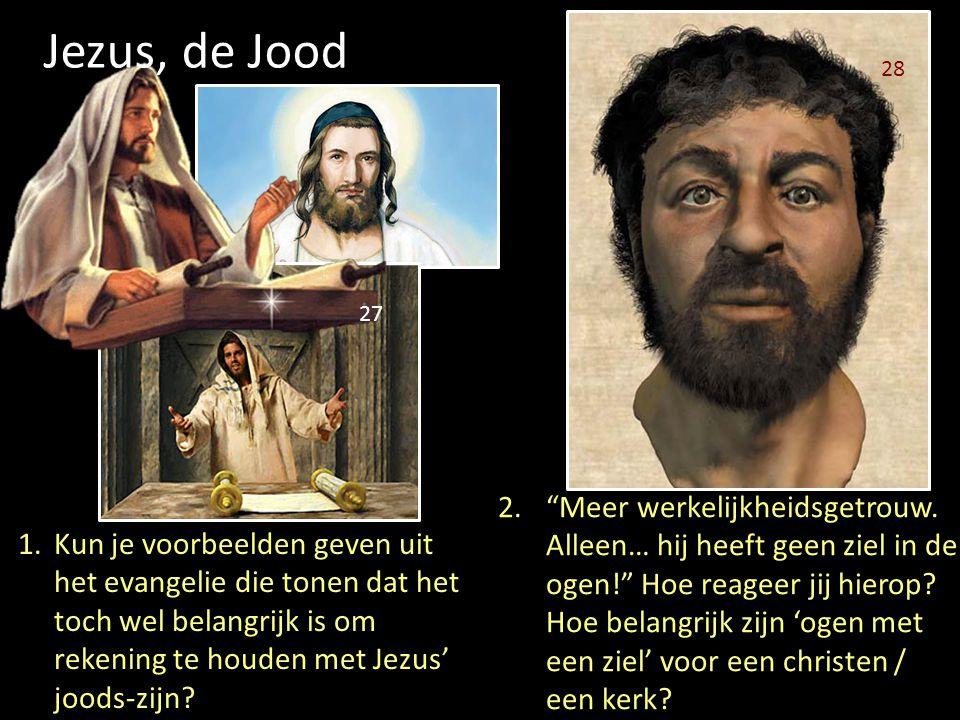 Jezus, de Jood 28. 27.