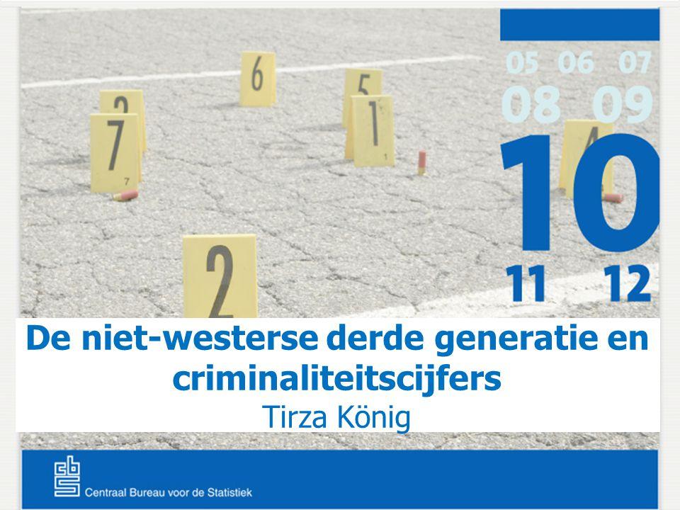 De niet-westerse derde generatie en criminaliteitscijfers