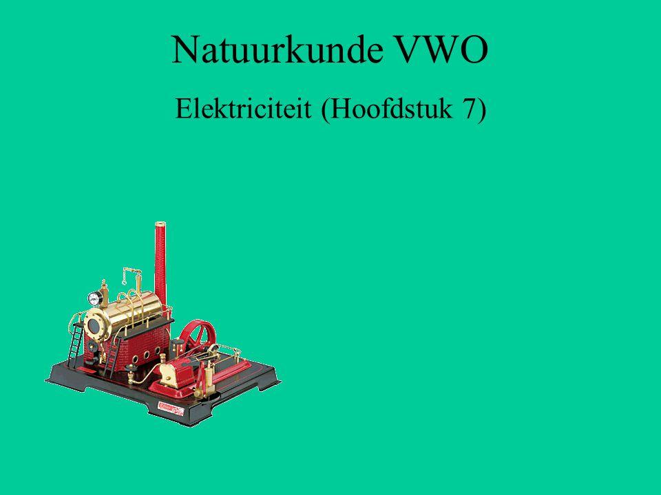 Elektriciteit (Hoofdstuk 7)