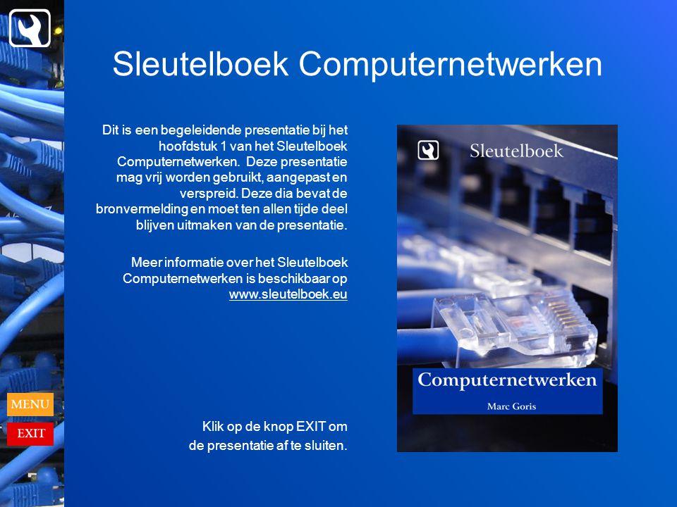 Sleutelboek Computernetwerken