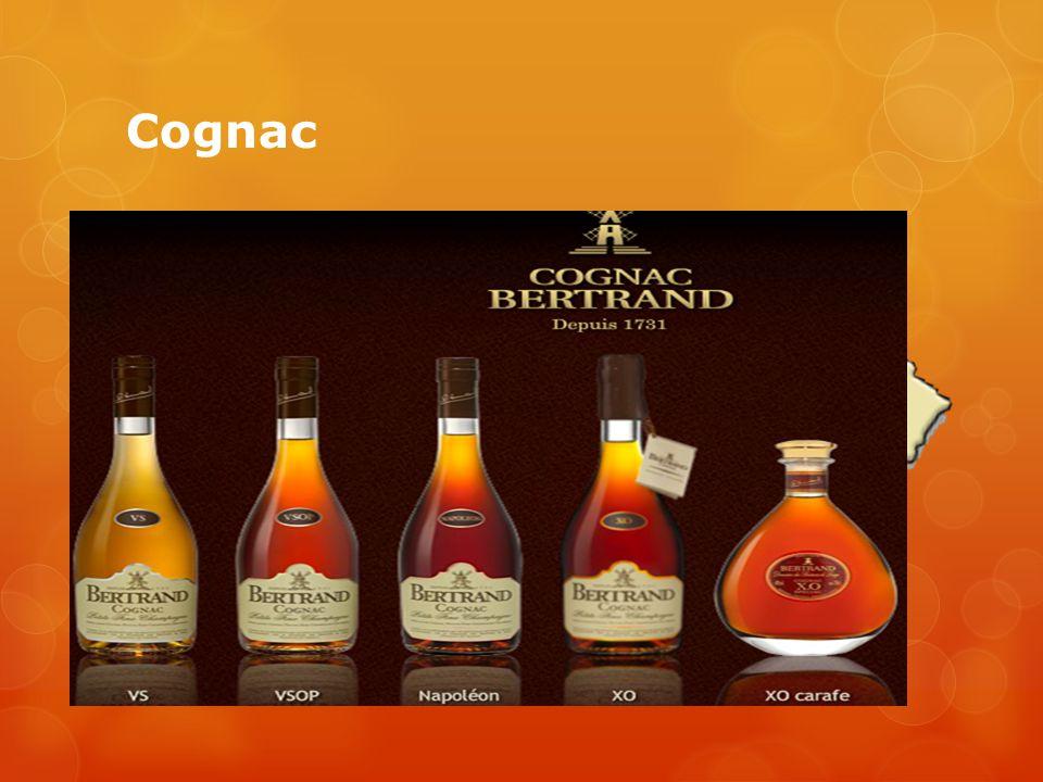 Cognac Wijn distillaat Witte wijn Gerijpt op vaten Imago