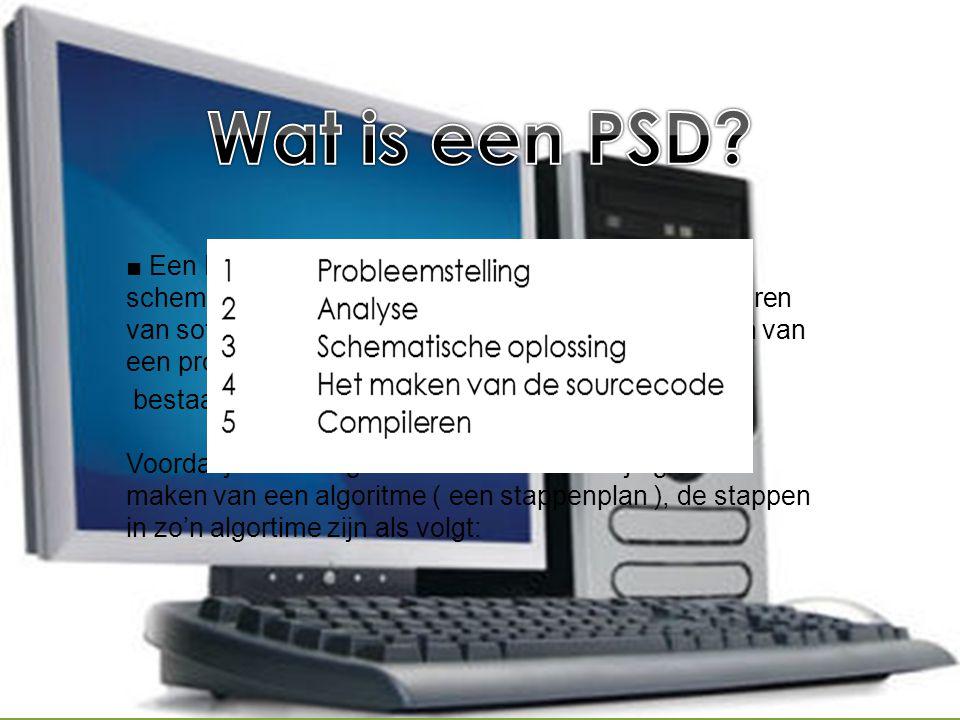 Wat is een PSD