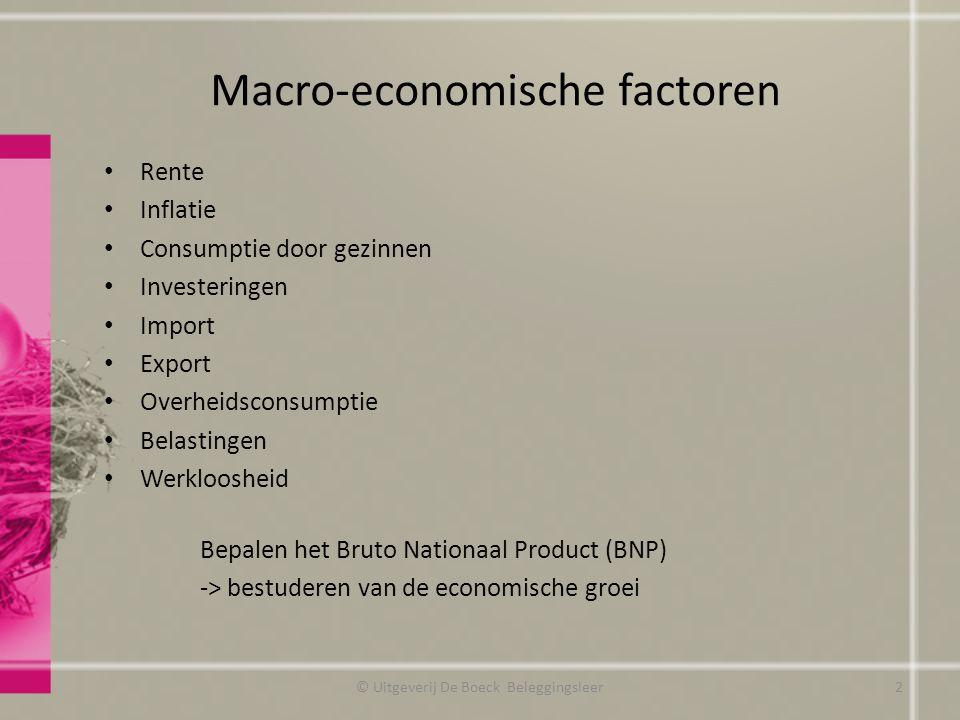 Macro-economische factoren