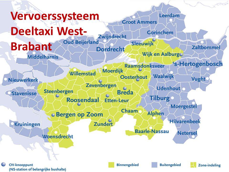 Vervoerssysteem Deeltaxi West-Brabant