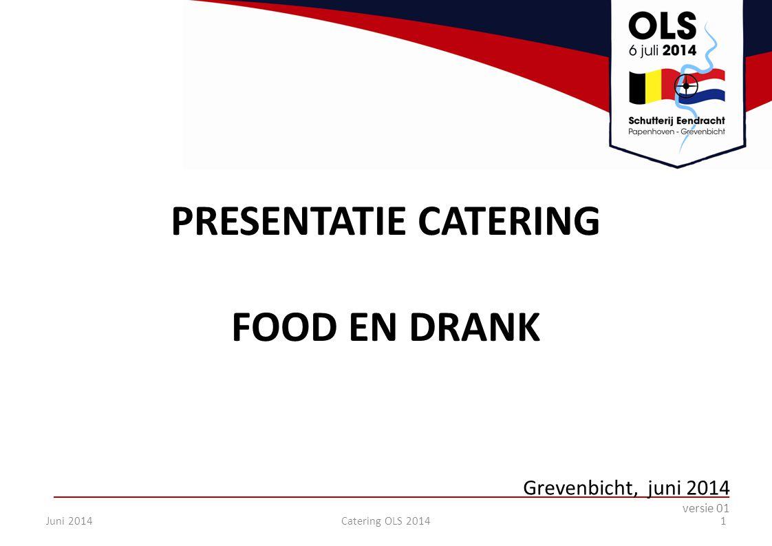 PRESENTATIE CATERING FOOD EN DRANK