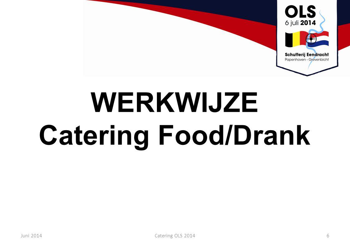 WERKWIJZE Catering Food/Drank