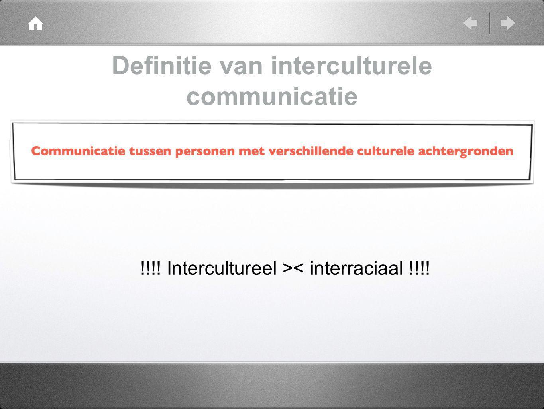 Definitie van interculturele communicatie