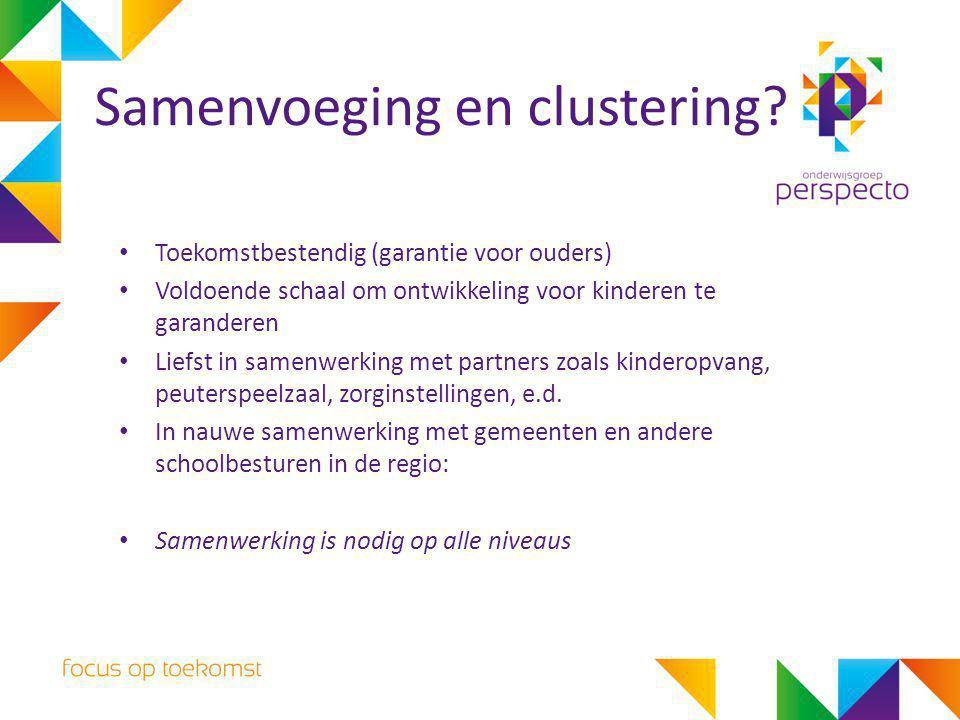 Samenvoeging en clustering