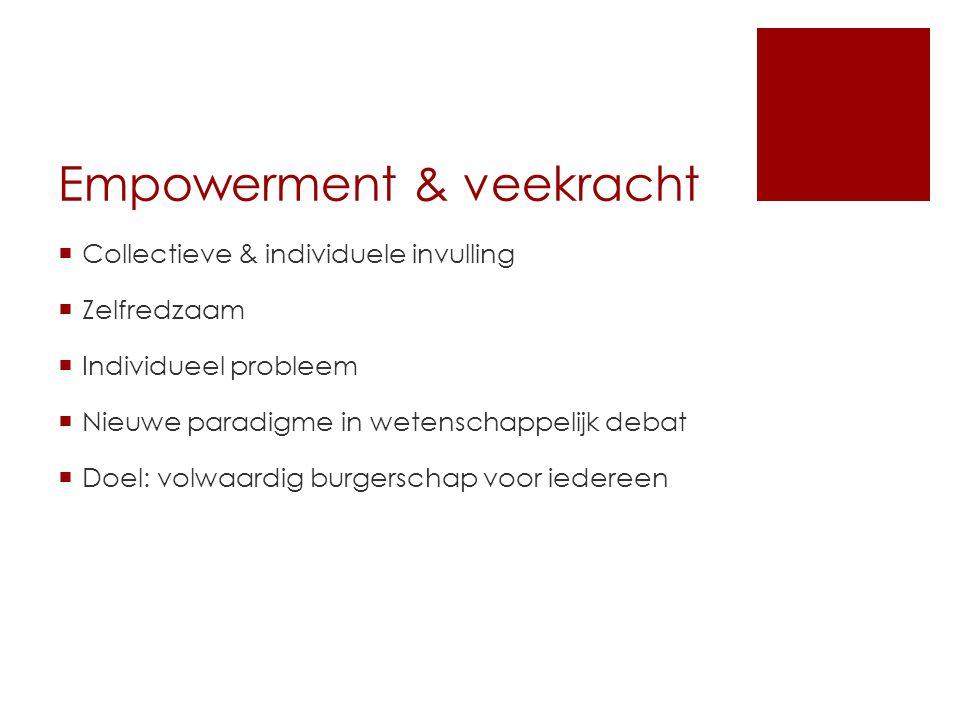 Empowerment & veekracht