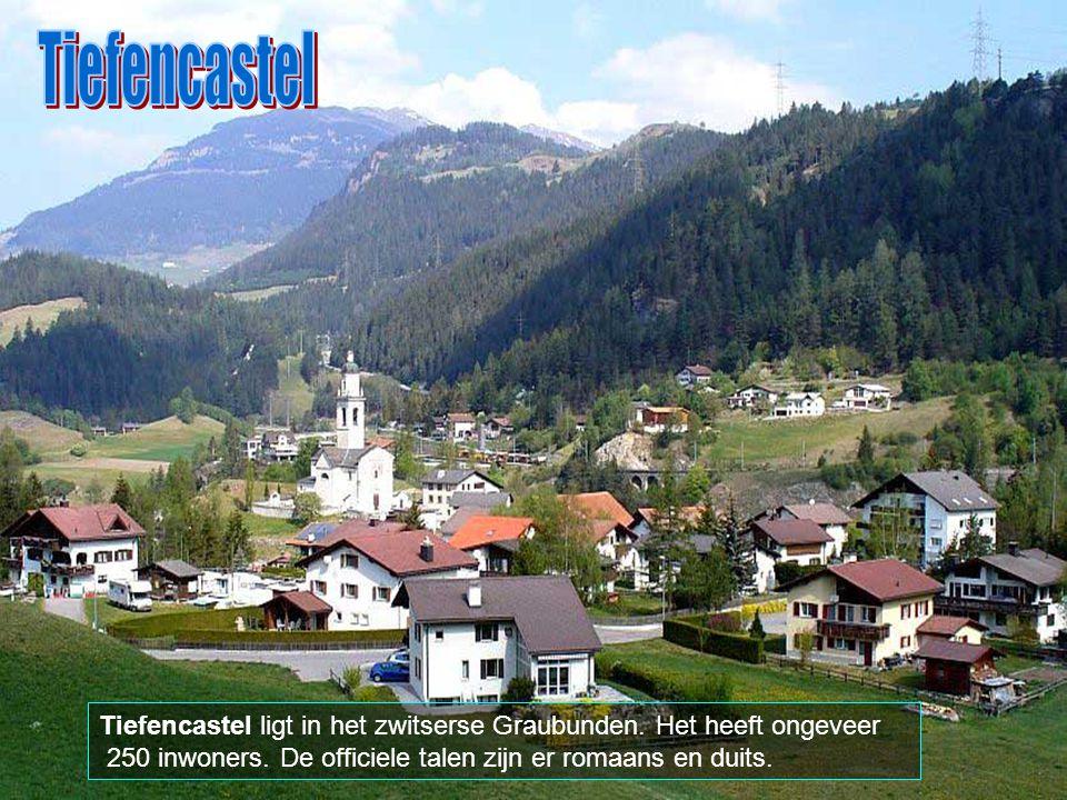 Tiefencastel Tiefencastel ligt in het zwitserse Graubunden.