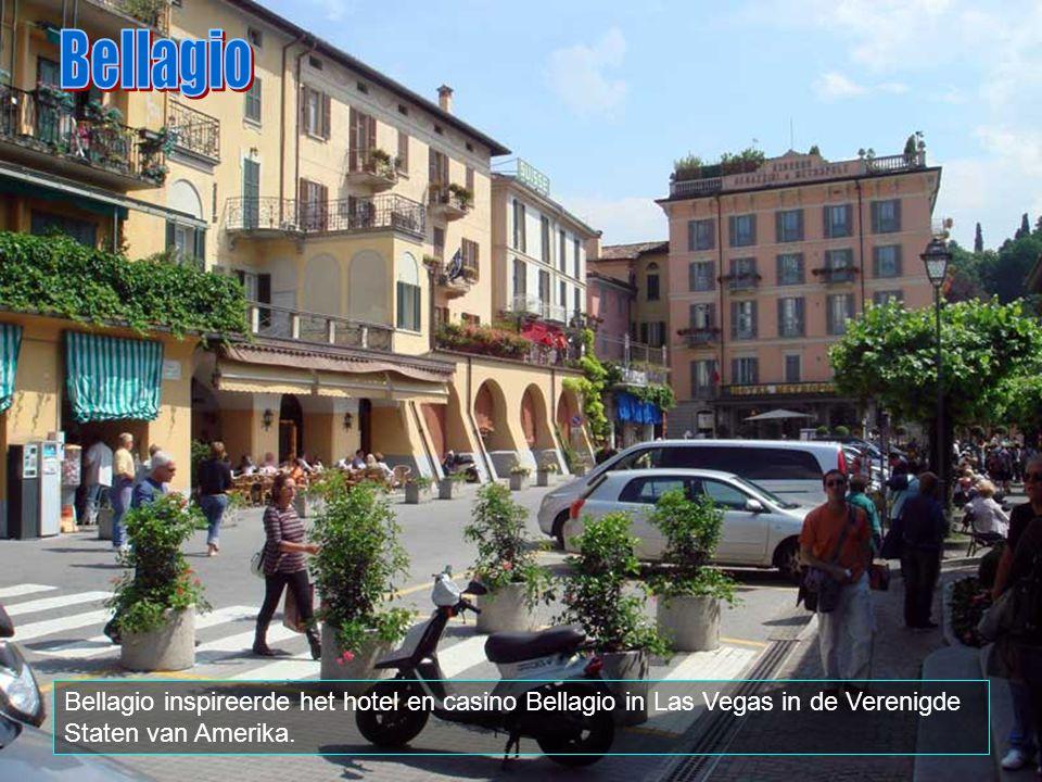 Bellagio Bellagio inspireerde het hotel en casino Bellagio in Las Vegas in de Verenigde Staten van Amerika.