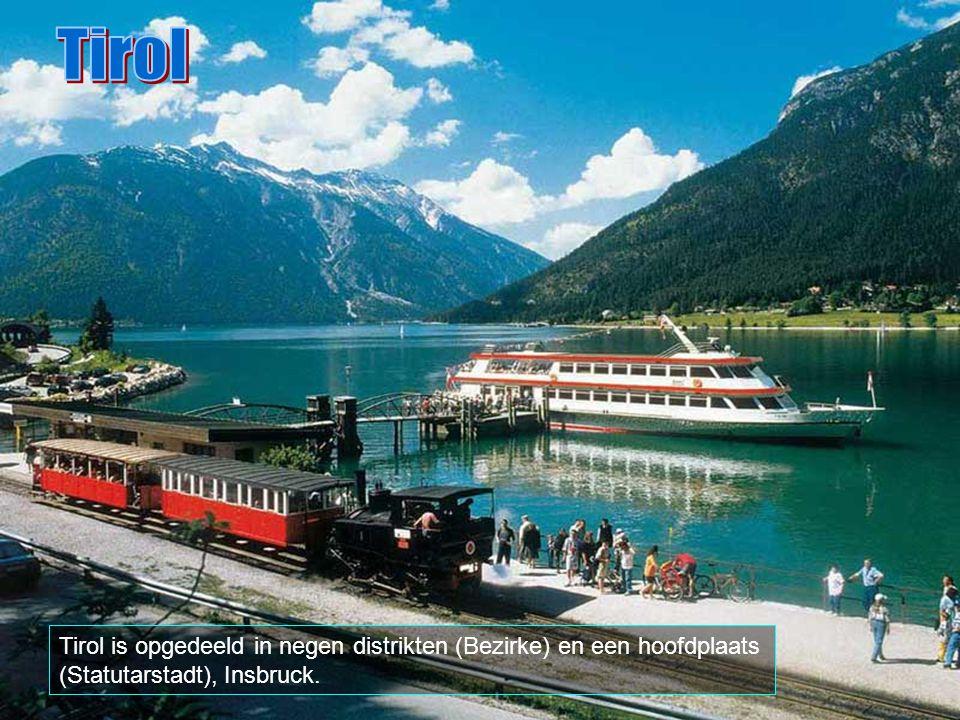 Tirol Tirol is opgedeeld in negen distrikten (Bezirke) en een hoofdplaats (Statutarstadt), Insbruck.