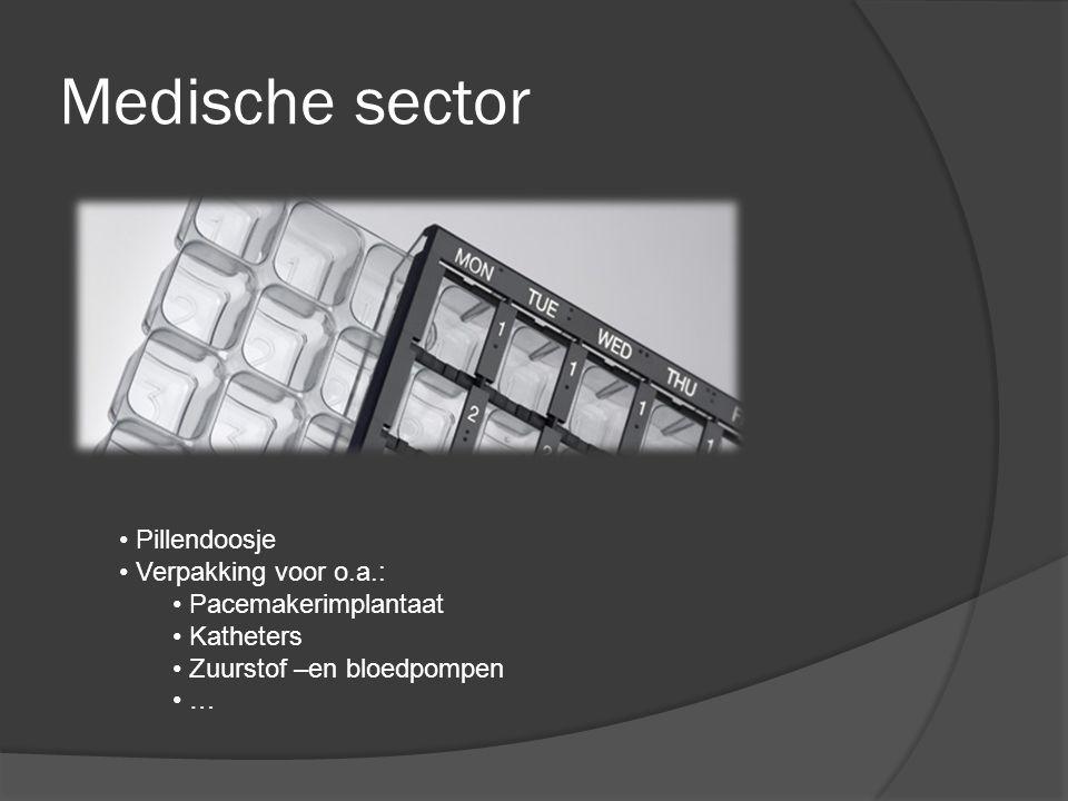 Medische sector Pillendoosje Verpakking voor o.a.: Pacemakerimplantaat