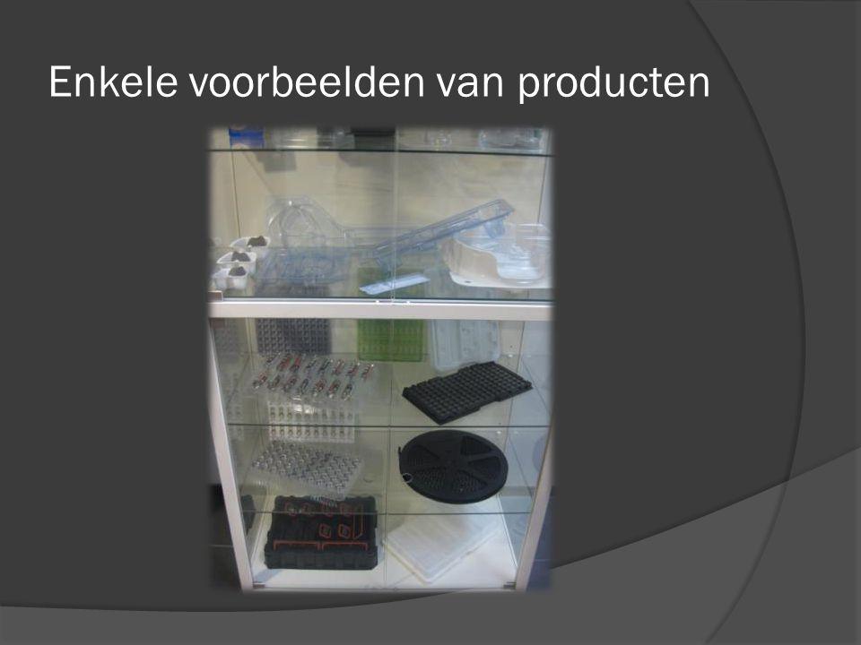 Enkele voorbeelden van producten