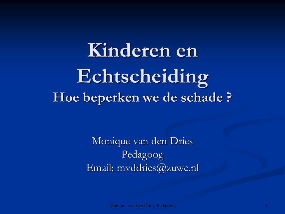 Kinderen en Echtscheiding Hoe beperken we de schade