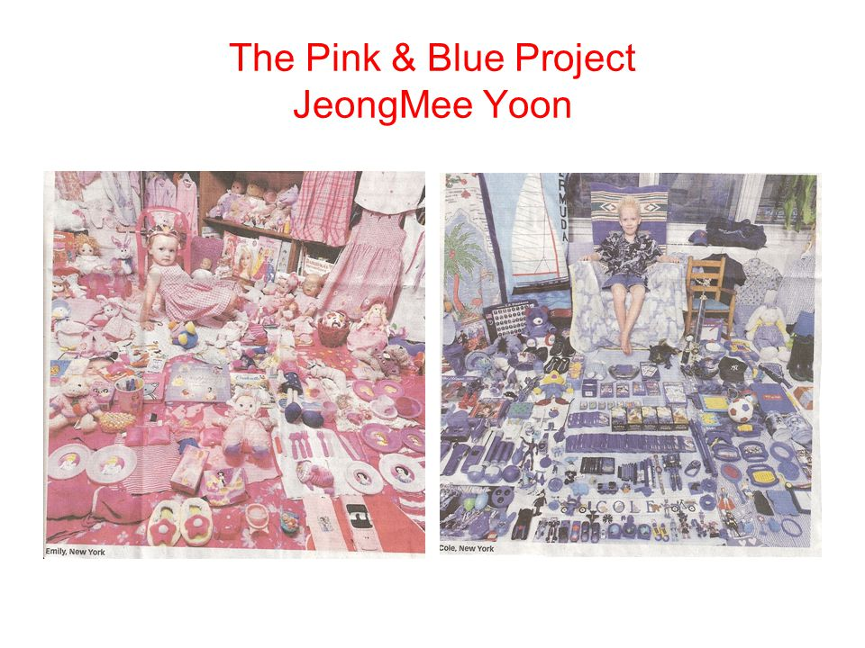 The Pink & Blue Project JeongMee Yoon