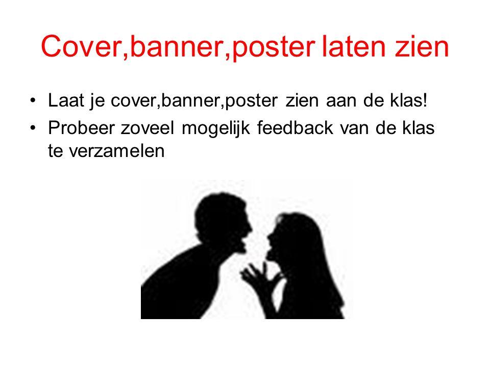 Cover,banner,poster laten zien
