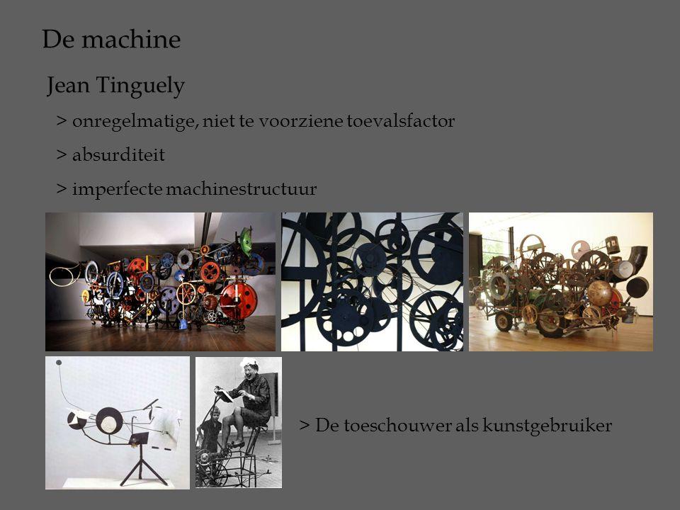 De machine Jean Tinguely