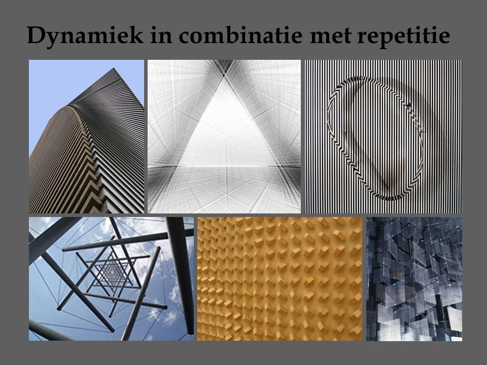 Dynamiek in combinatie met repetitie