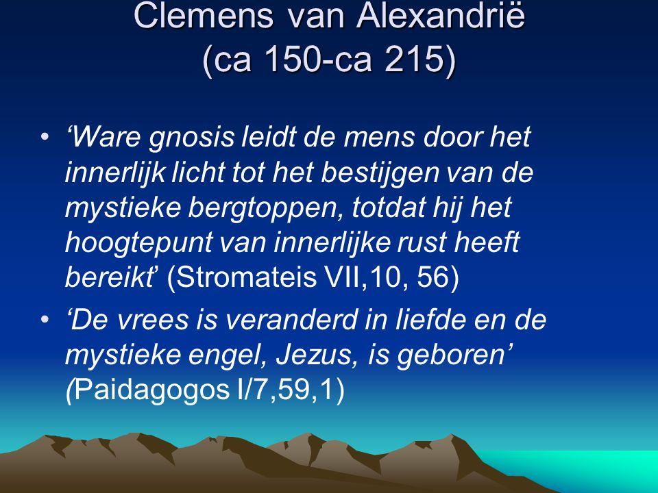 Clemens van Alexandrië (ca 150-ca 215)