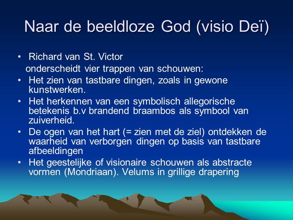 Naar de beeldloze God (visio Deï)
