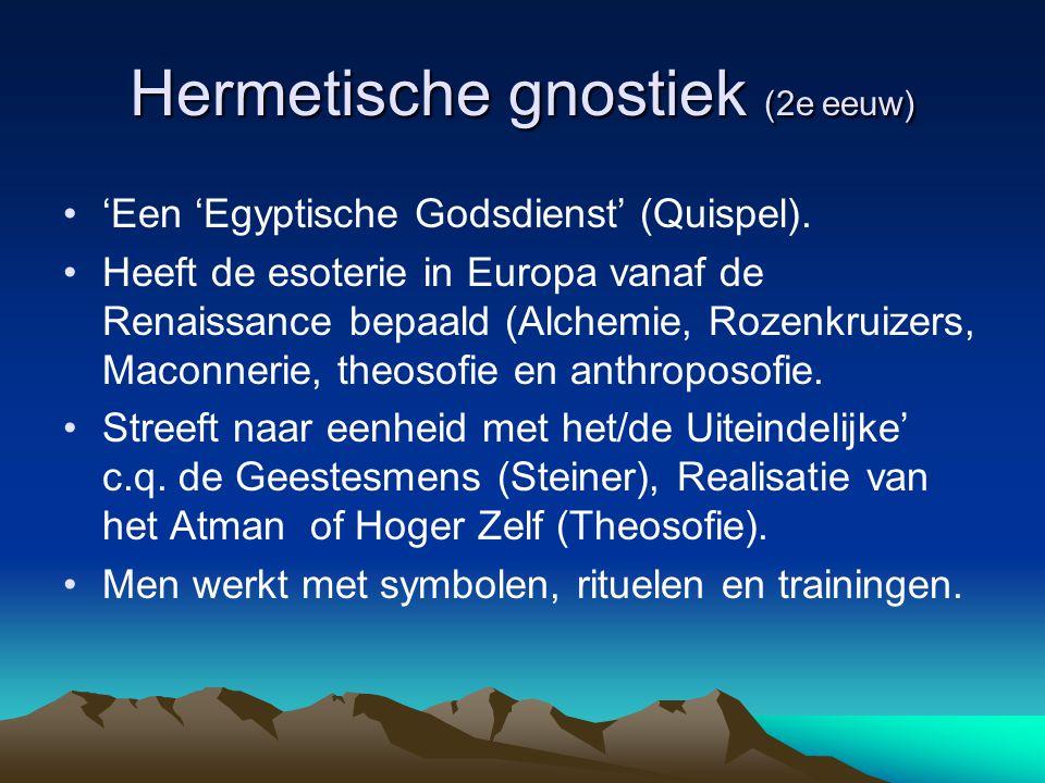 Hermetische gnostiek (2e eeuw)