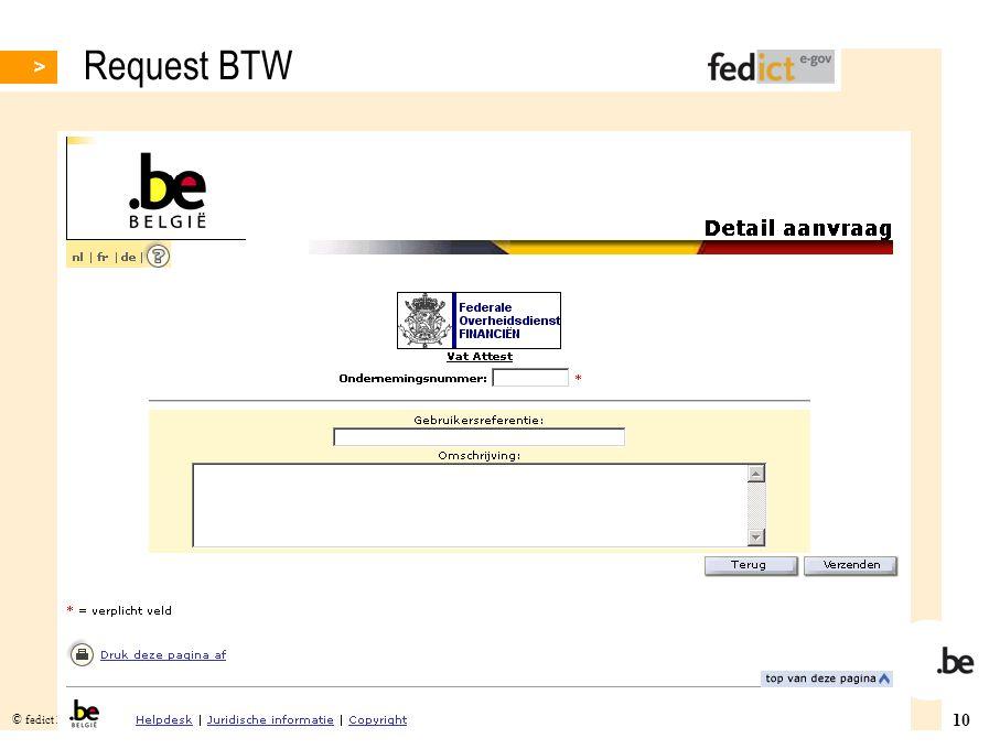 Request BTW