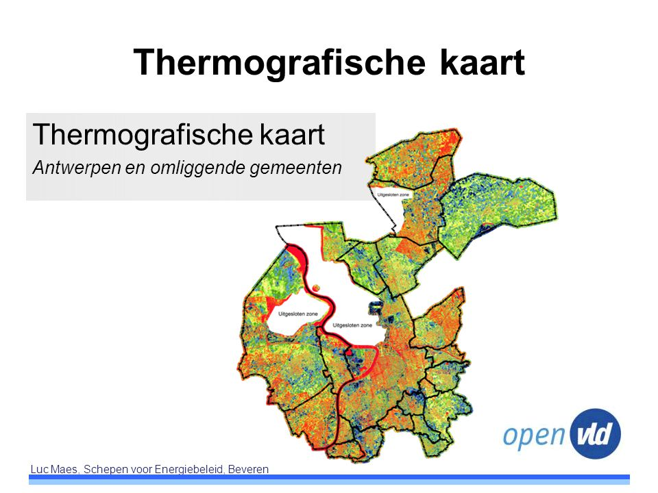 Thermografische kaart