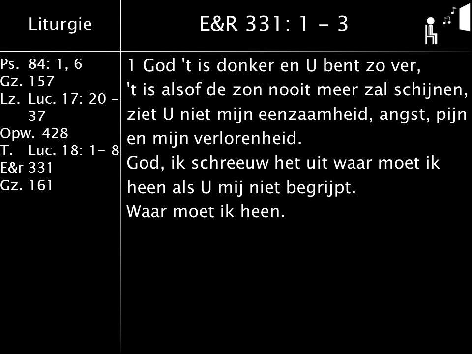 E&R 331: 1 - 3