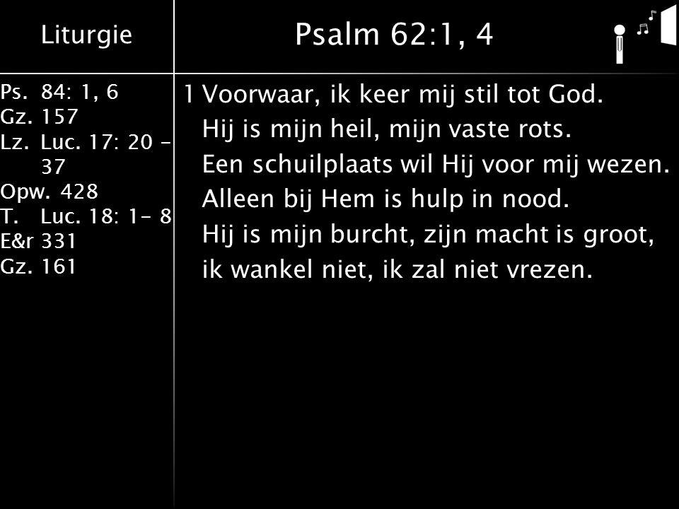 Psalm 62:1, 4