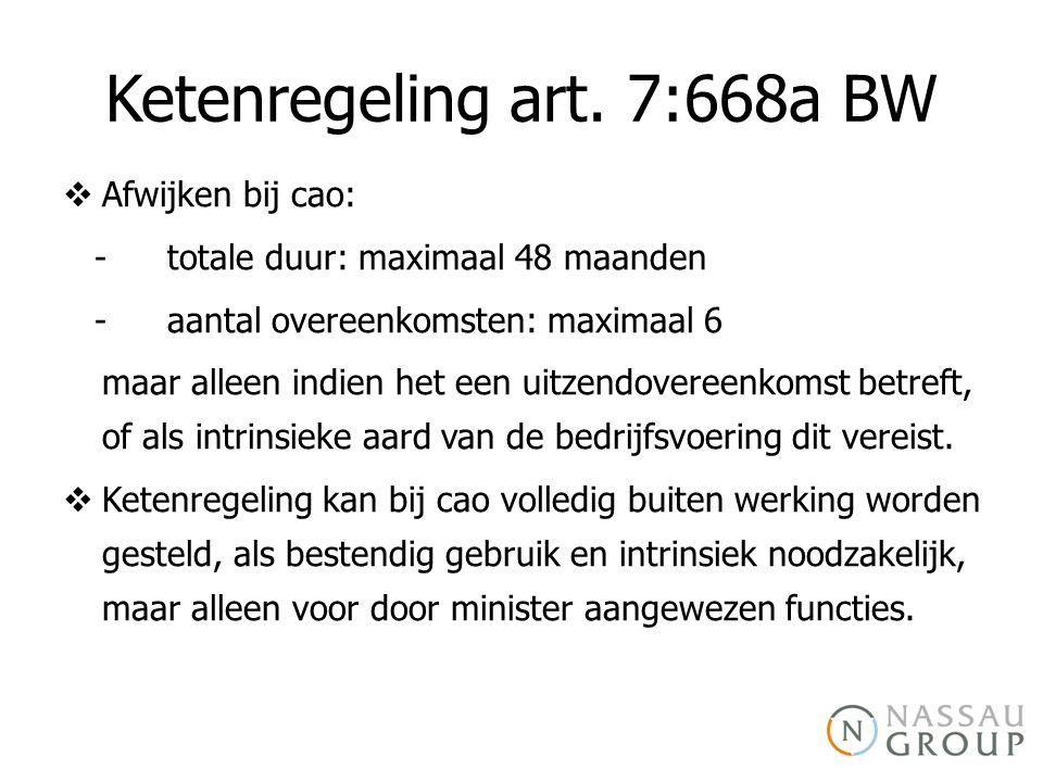 Ketenregeling art. 7:668a BW