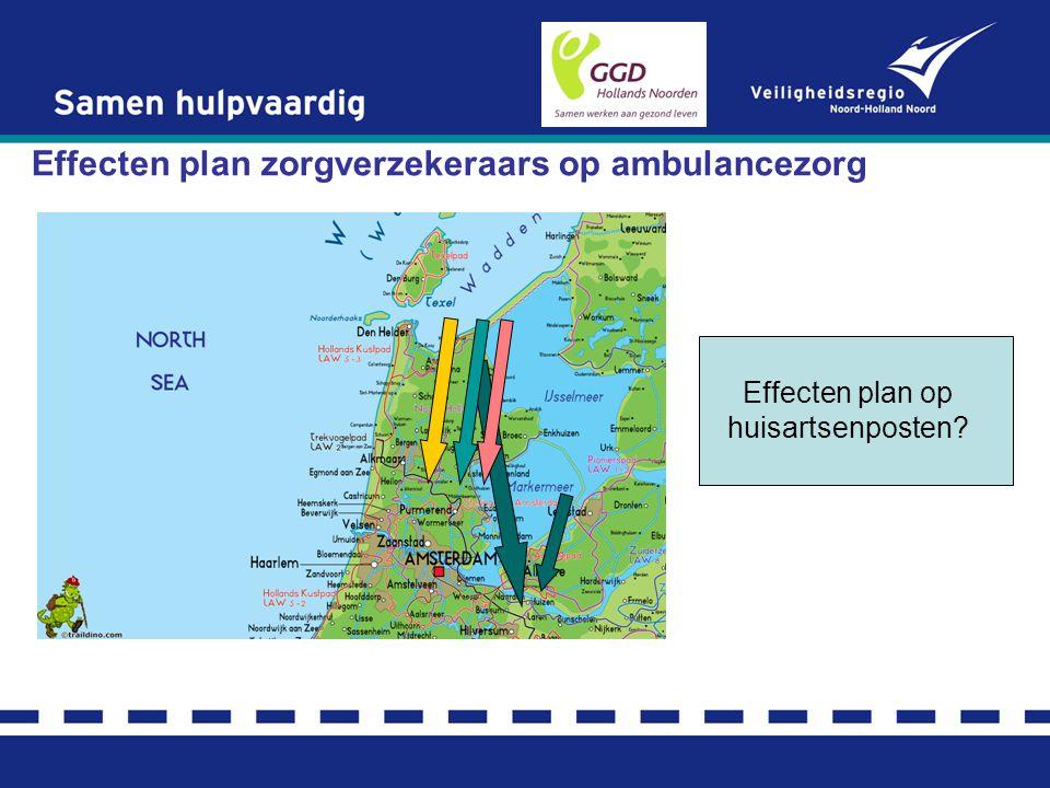 Effecten plan zorgverzekeraars op ambulancezorg