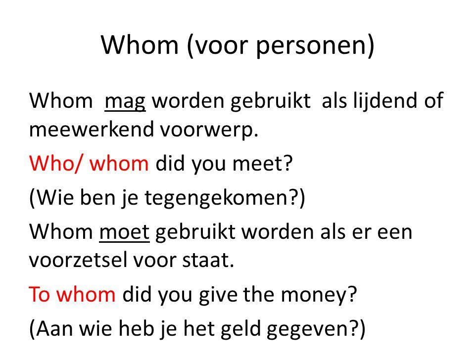 Whom (voor personen)
