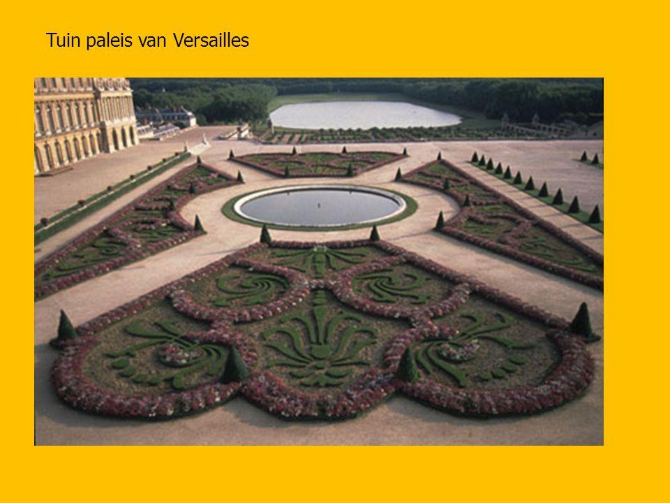 Tuin paleis van Versailles