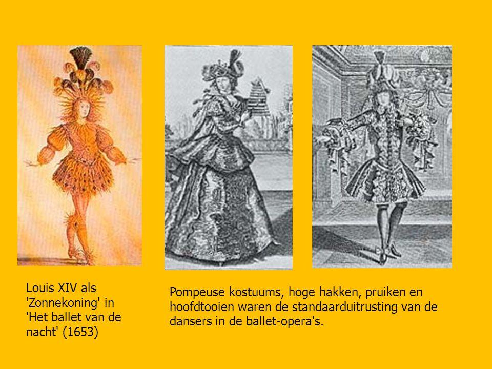 Louis XIV als Zonnekoning in Het ballet van de nacht (1653)