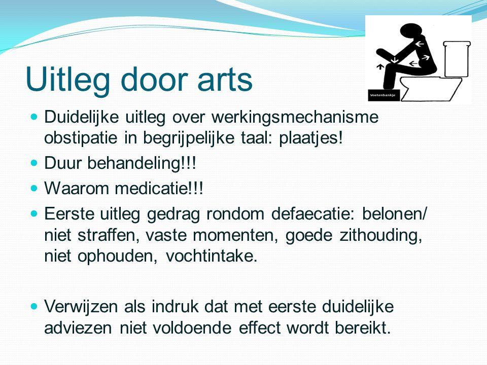 Uitleg door arts Duidelijke uitleg over werkingsmechanisme obstipatie in begrijpelijke taal: plaatjes!