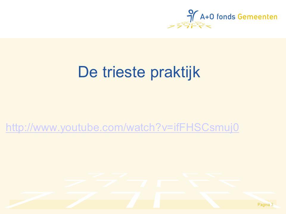 De trieste praktijk http://www.youtube.com/watch v=ifFHSCsmuj0