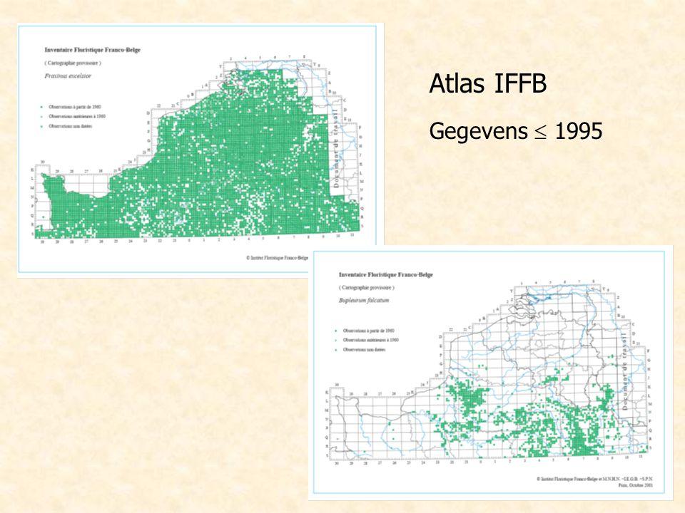 Atlas IFFB Gegevens  1995
