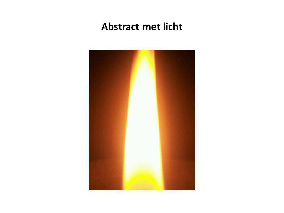 Abstract met licht