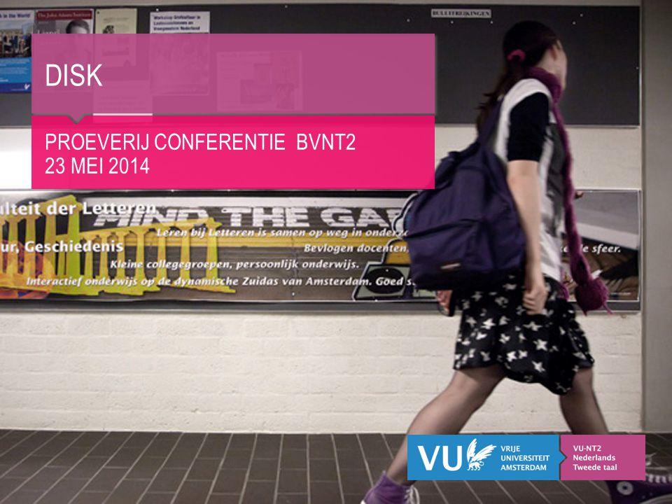 DISK Proeverij conferentie BVNT2 23 mei 2014