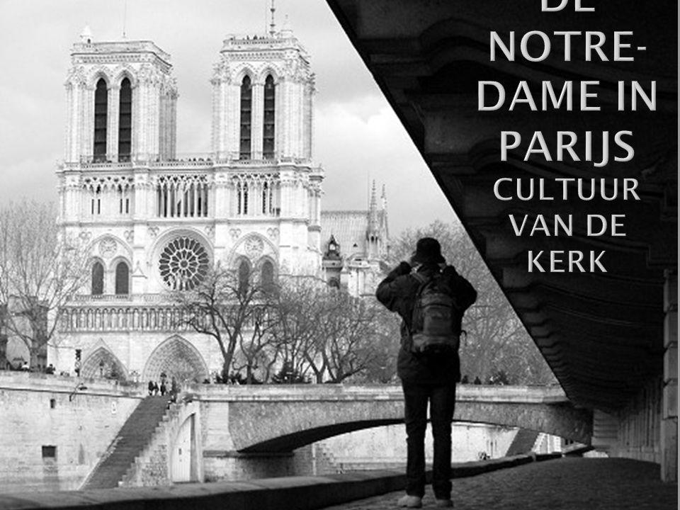 De Notre-Dame in Parijs Cultuur van de kerk