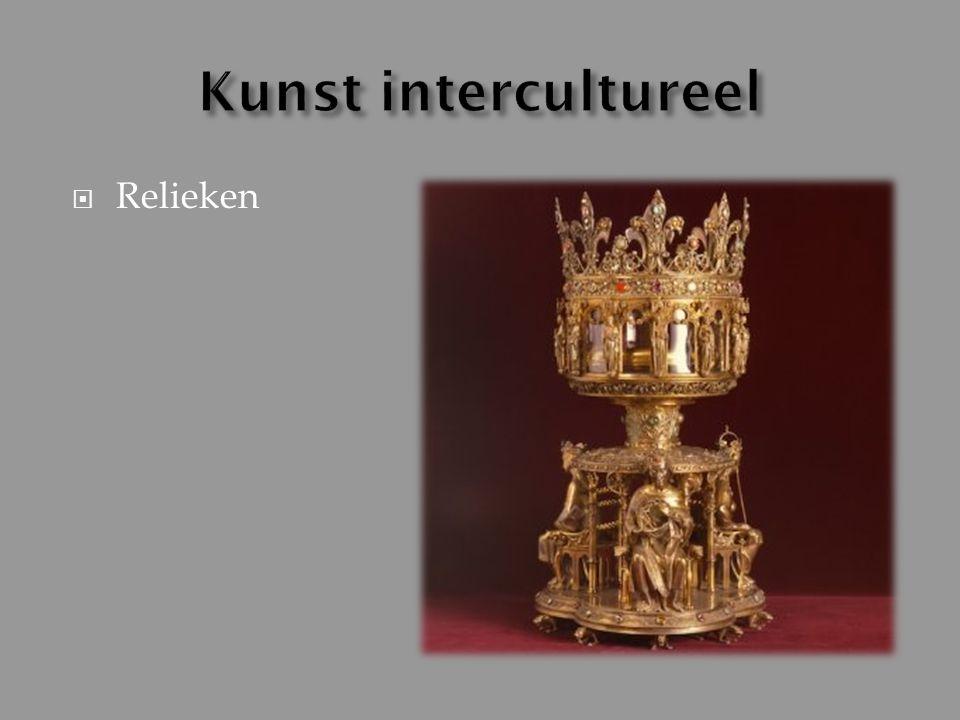 Kunst intercultureel Relieken