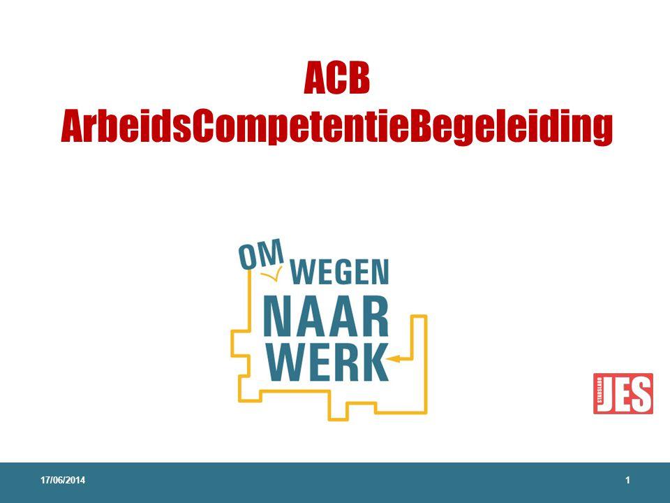 ACB ArbeidsCompetentieBegeleiding