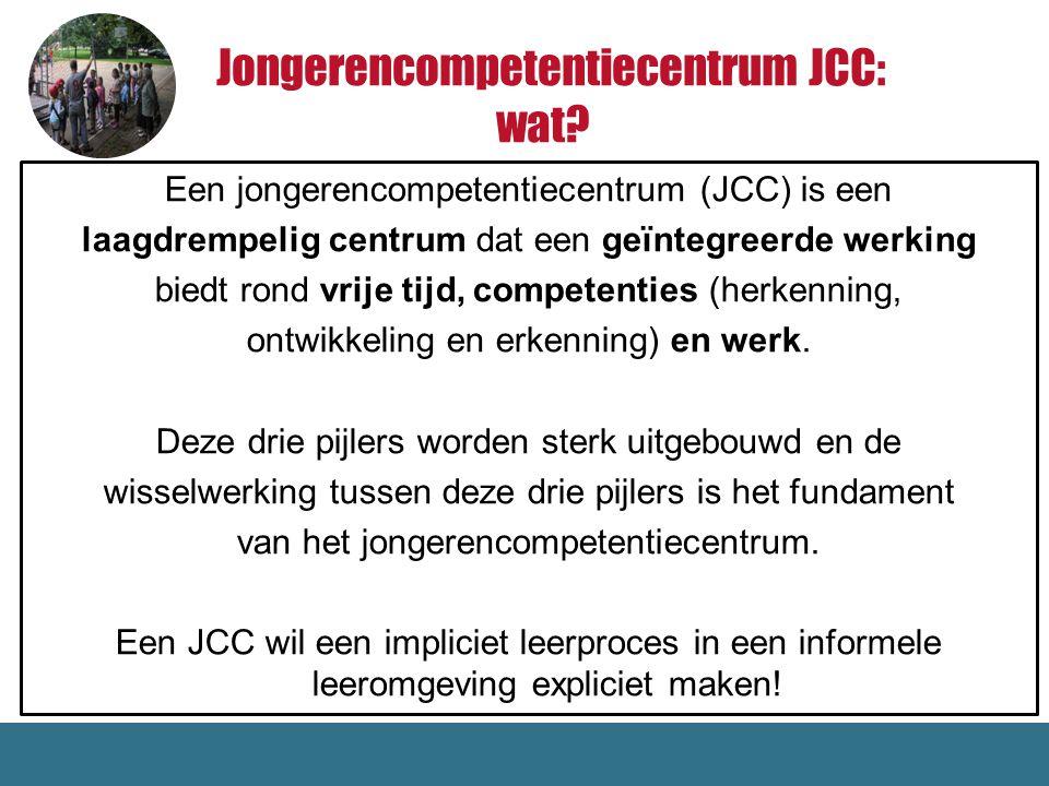 Jongerencompetentiecentrum JCC: wat