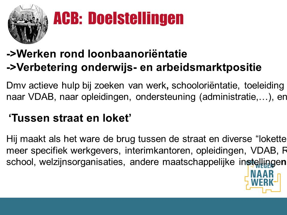 ACB: Doelstellingen