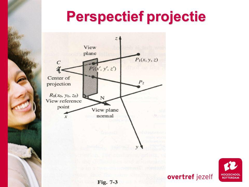 Perspectief projectie