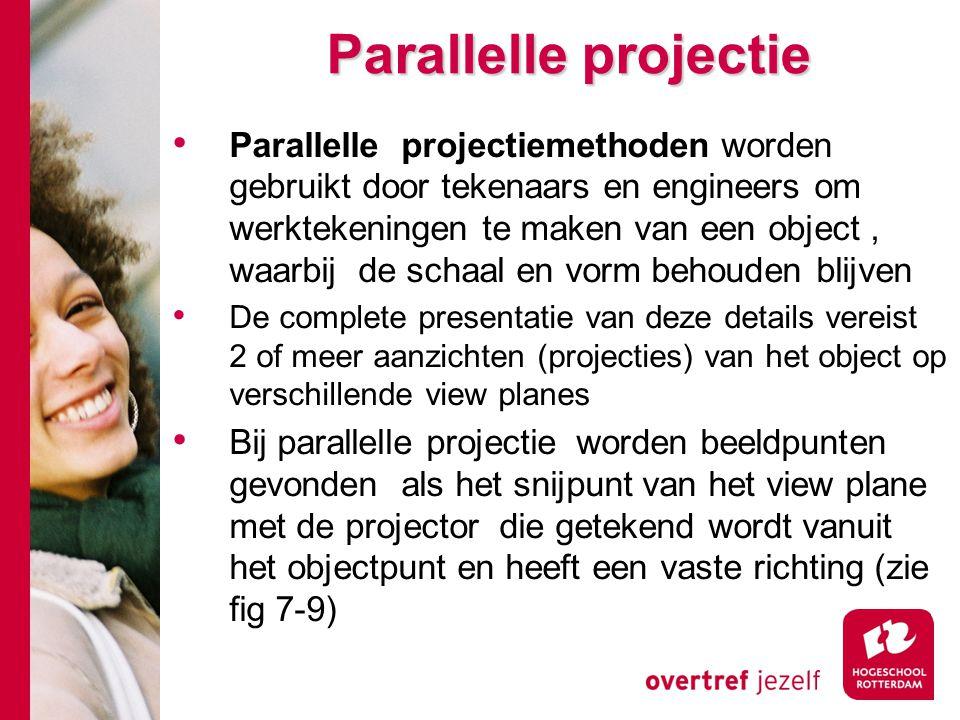 Parallelle projectie