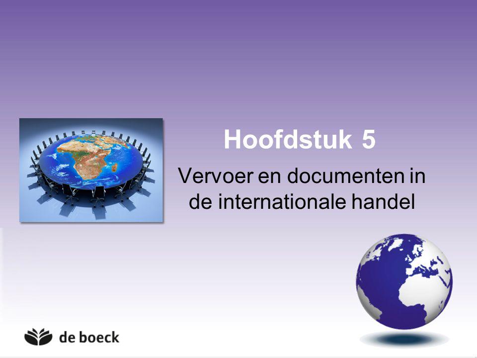 Vervoer en documenten in de internationale handel