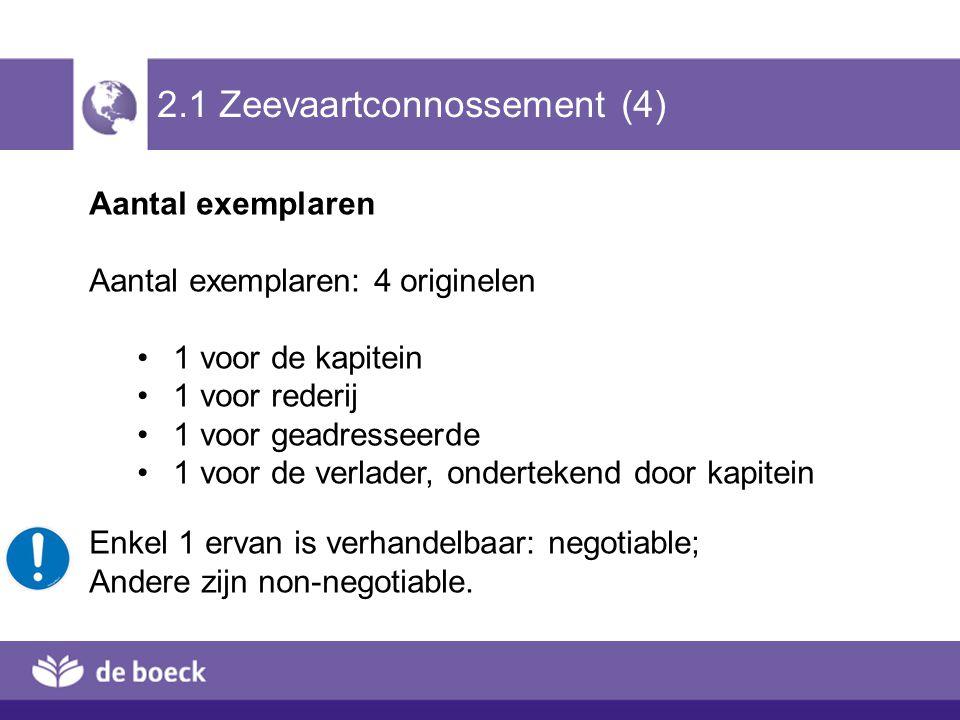 2.1 Zeevaartconnossement (4)