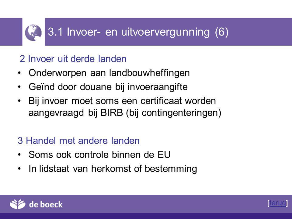 3.1 Invoer- en uitvoervergunning (6)